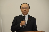SATOグループ講演会で土屋HD・土屋公三会長が熱弁