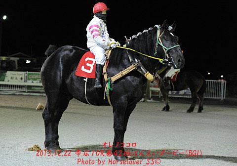 第42回ばんえいダービー馬 オレノココロ