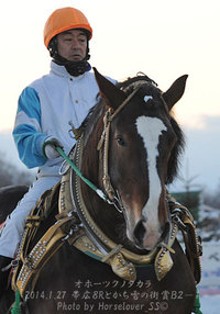 帯広8R冬こそばん馬を満喫記念