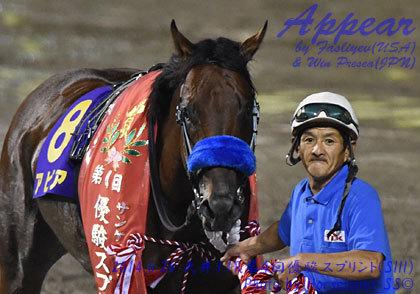 アピア 第4回 優駿スプリント (SIII) 優勝