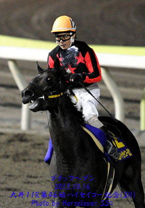 ブラックヘブン 第46回ハイセイコー記念(SII)優勝