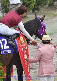 川島正行調教師のご訃報に接し、心から哀悼の意を表します