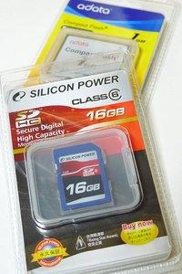 16GBのSDメモリーカードを買ったよ