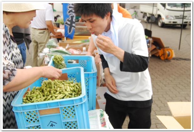 秋刀魚の煙が香ばしい? 函館ベイエリアフェスタ
