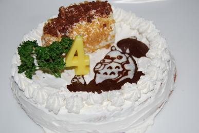 道産米で誕生日ケーキを作ってみた