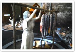 鮭に捧げるアイヌ人達の敬意の念