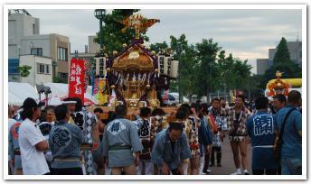 「いわみざわ赤レンガ夏祭り」に行ってみた(その1)