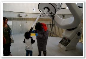 昼に輝くアンタレスと宇宙旅行と旭川市科学館