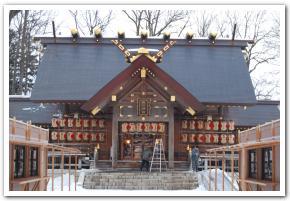 旭川神社に行ってみた