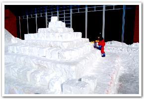 「岩見沢ドカ雪まつり」に行ってみた