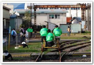 五稜郭車両所を遊び尽くす! 「鉄道の日」イベント
