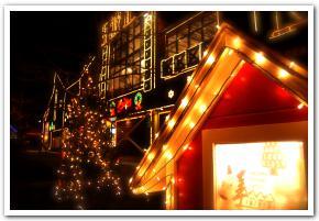 忍び寄るサンタクロースと函館クリスマスファンタジー