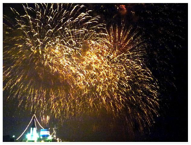 函館新聞主催の花火大会に行ってみた