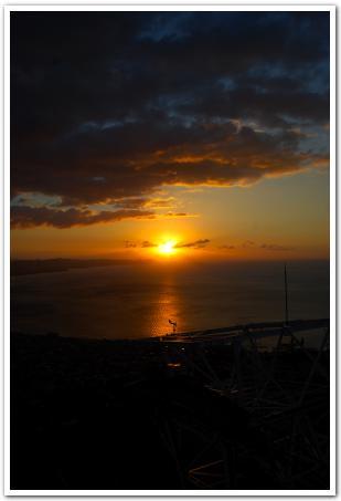 夜明け前の函館山 その展望に感動です