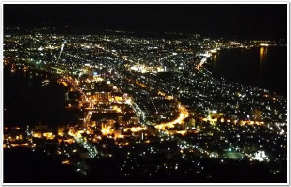 「函館夜景の日」に函館山に登ってみた