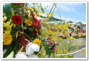 花と緑のフェスティバルに行ってみた