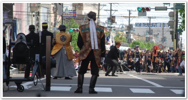五稜郭祭 維新パレードを見学した