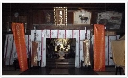 歴史溢れる「亀田八幡宮」に行ってみた