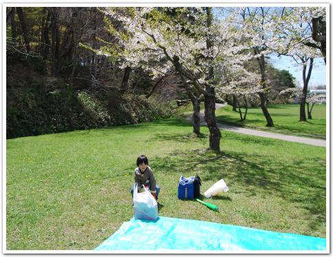 函館市 見晴公園 で焼肉ってみた
