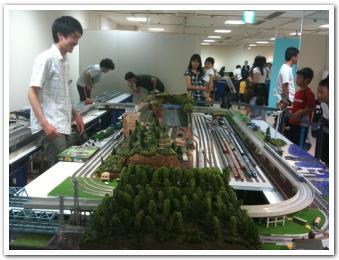 札幌三越の「わくわく鉄道カーニバル」に行ってきたらしい
