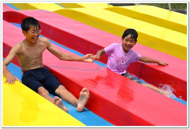 楽しい遊具と快適な子供密度に大満足 夏の穴場「妹背牛町」