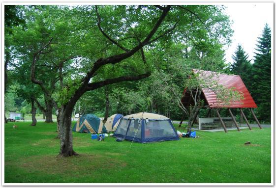 長万部公園キャンプ場に行ってみた