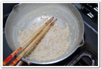米粉でパンケーキを作ってみた