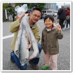 「石狩鮭まつり2010」に行ってみた