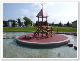 旭川市「忠和公園」に水遊びに行ってみた
