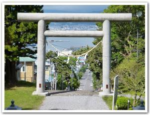 気分爽快!「山ノ上大神宮」から眺める函館