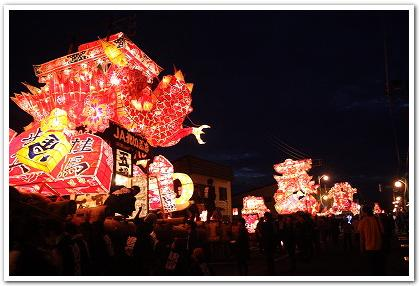 煌めく一夜「夜高あんどん祭り」が開催されるぞ!