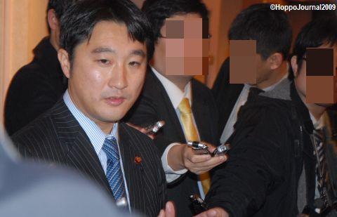 石川議員、札幌で語る