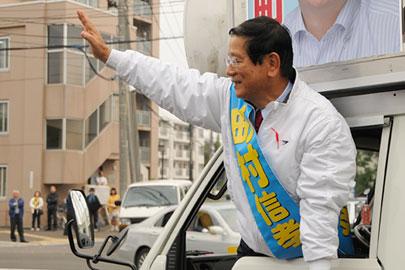 辞職し衆院道5区補選に出馬した町村の吉凶やいかに