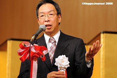 民主・菅代表代行、札幌で「総選挙は近い」