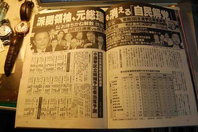 09衆院選の焦点【2】自民党の行方