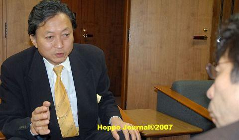 鳩山幹事長に「小沢騒動」と「政権取り」をインタビュー
