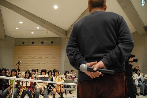 ジミー東原オールスターズ、中学生に技を伝授