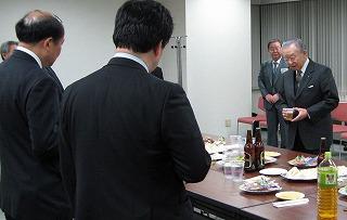 札幌証券取引所・懇談会