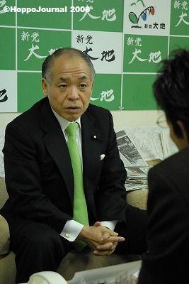 鈴木宗男にインタビュー【2】