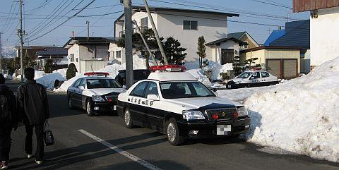 道警の活躍に注目