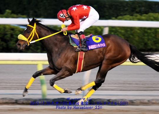 第4回東京シンデレラマイル(SIII) 腰が低い的場文男騎手
