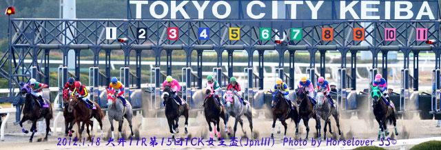 第15回TCK女王盃(JpnIII) レース写真