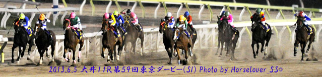 第59回東京ダービー(SI) レース写真