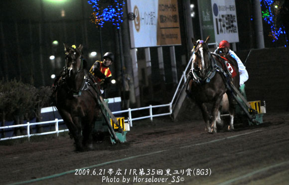 第35回黒ユリ賞(BG3) - 2009年6月21日