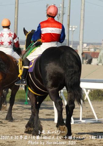 帯広11R七夕特別 - ばん馬とサラブレッド