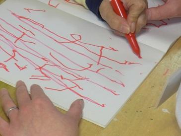 字の練習です