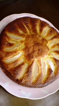 コンデンスミルクのリンゴケーキ