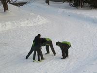 雪中ラグビー的な の巻