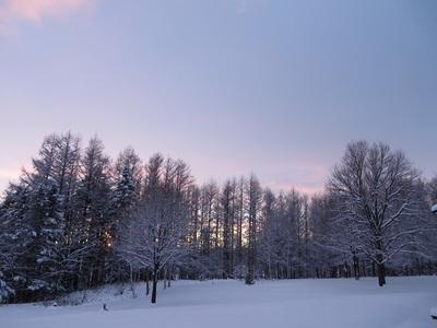 真冬の様相 の巻