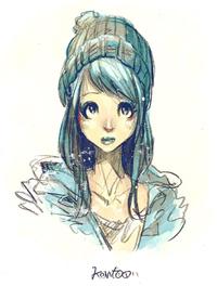 白藍ガール